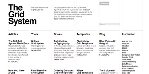 typography grid system improve website readability by using better typography