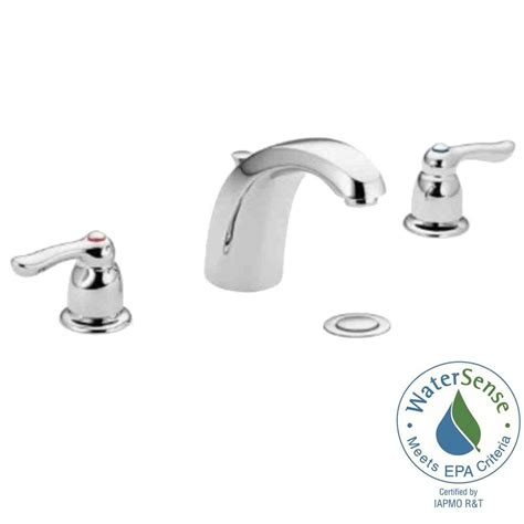 widespread bathroom sink faucet moen faucet widespread