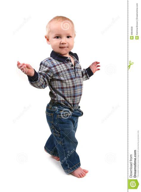 walking sideways adorable toddler boy walking sideways royalty free stock photos image 9984658