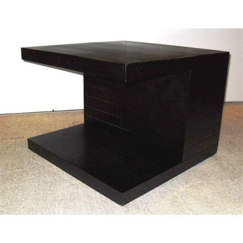 Black Ash Coffee Table Helsinki Wooden End Side Table In Black Ash 9076