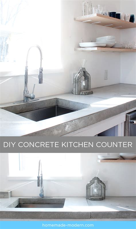 concrete countertops kitchen modern ep87 concrete kitchen countertops