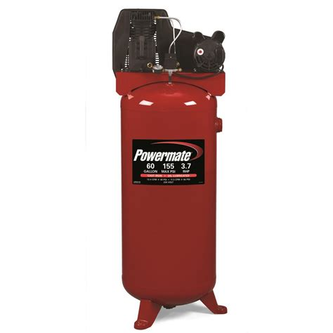 powermate 60 gal stationary electric air compressor pla3706056 the home depot