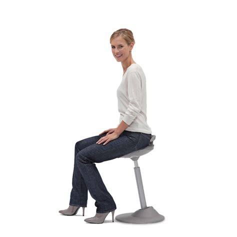 Muvman Sit Stand Stool By Aeris by Muvman Sit Stand Stool Active Seating Apres Furniture