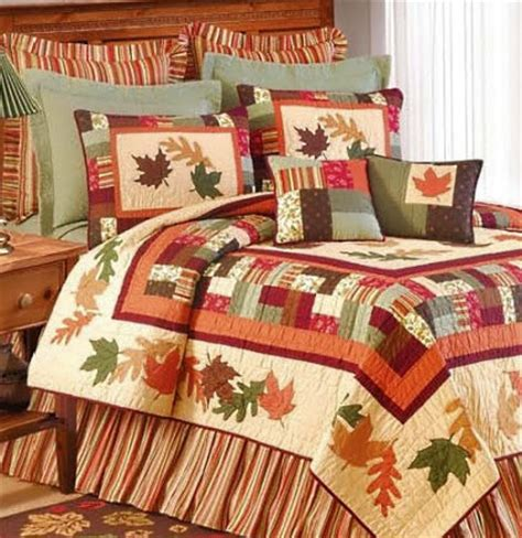 Fall Quilts Bedding Leaves Bedding Atlantic Linens