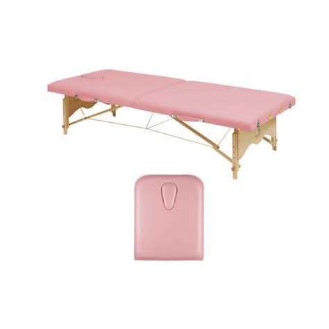 table osteo pliante table de pliante en bois avec tendeurs ecopostural