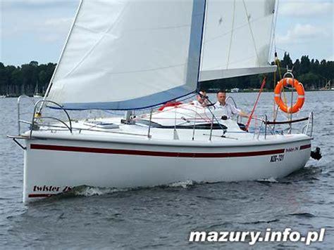 jacht twister 780 sprzedam twister 780 test jachtu mazury info pl