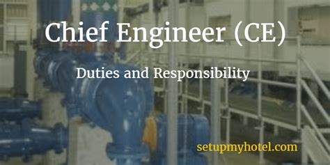 Hotel Engineering by Hotel Chief Engineer Ce Engineering Manager