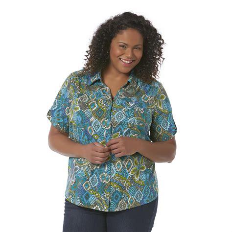 Erika Pocket Navi miss erika s plus c shirt floral clothing shoes jewelry clothing s
