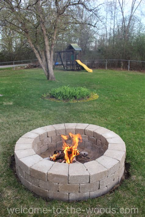 Step By Step Build Your Own Pit The Garden Hose Build Your Own Pit Welcome To The Woods