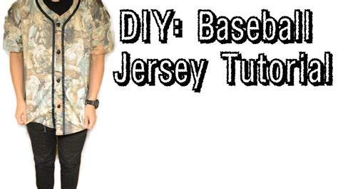pattern urban dictionary diy how to make a baseball jersey from scratch 10