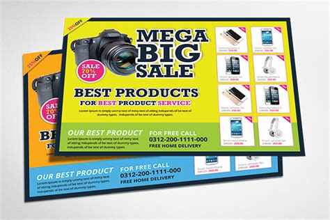 product promotion flyer templates flyer templates on