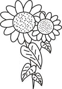 Sunflower coloring page download free sunflower coloring page