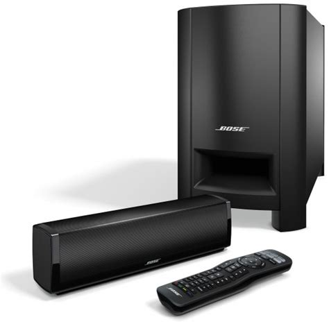 bose introduces cinemate 15 and 15 home sound systems
