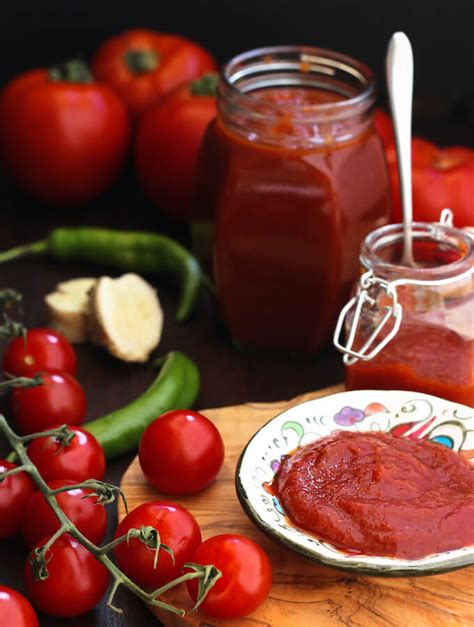 Easy homemade tomato ketchup with fresh tomatoes   My ... Homemade Ketchup Recipe Fresh Tomatoes