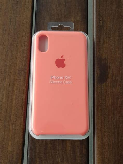 funda case silicon suave coral iphone xr  en