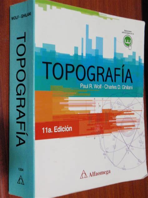 libros de topografia minera pdf libro de topograf 237 a de paul r wolf charles d ghilani bs 0 04 en mercado libre