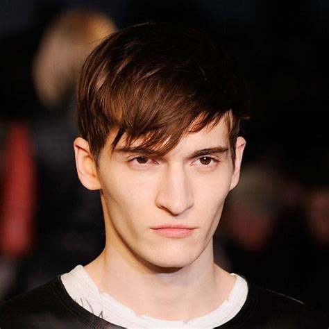 mens hairstyles bangs short sides mens fringe hairstyles men short hairstyle
