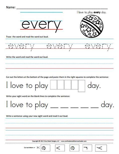 Www Homeschool Worksheets