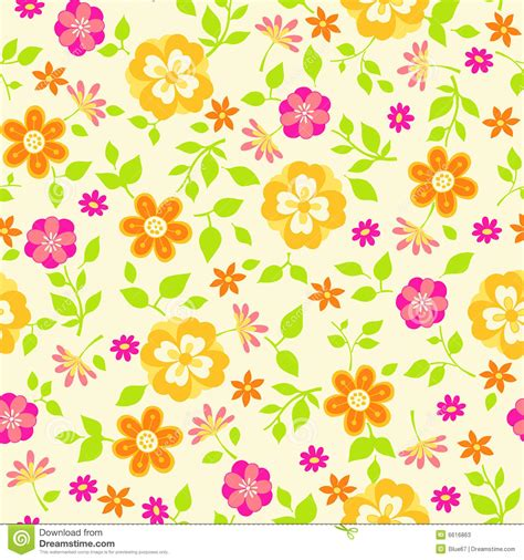 floral pattern repeat vector floral seamless repeat pattern vector illustration stock