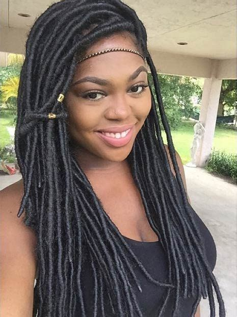 faux dreads on short african american hair 158 best images about faux locs on pinterest bobs