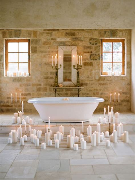 candles bathroom decorate with candles in every room