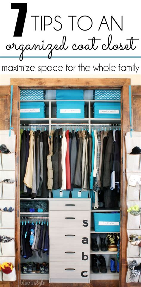 help me organize my closet 25 best ideas about coat closet makeovers on