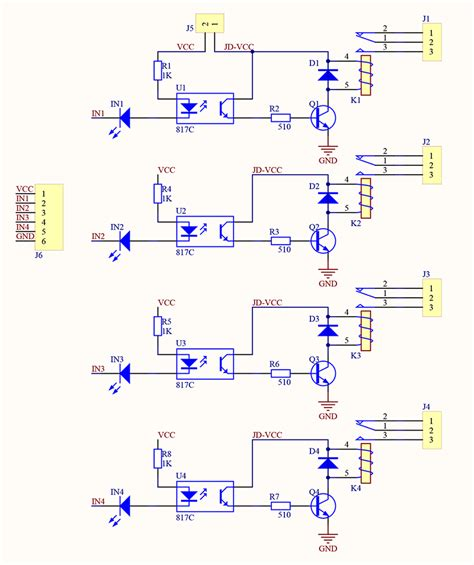 4 channel 5v relay module wiki