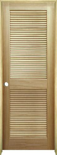 Prehung Louvered Interior Doors Mastercraft Pine Louvered Prehung Interior Door At Menards 174