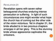 Chapter 21 22 Revelation 21 22 Commentary