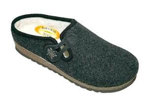 Handmade Slippers - handmade tyrolean slippers gardena model anthracite