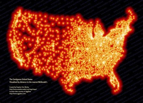 mcdonalds map usa les cartes de l empire mcdonald s 187 owni news augmented