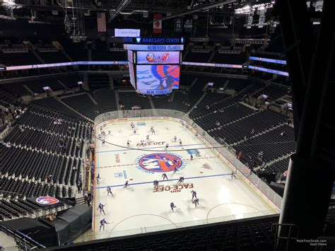 barclays center section   york islanders