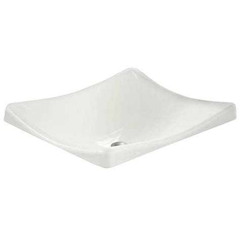 kohler wading pool sink kohler demilav wading pool cast iron vessel sink in white