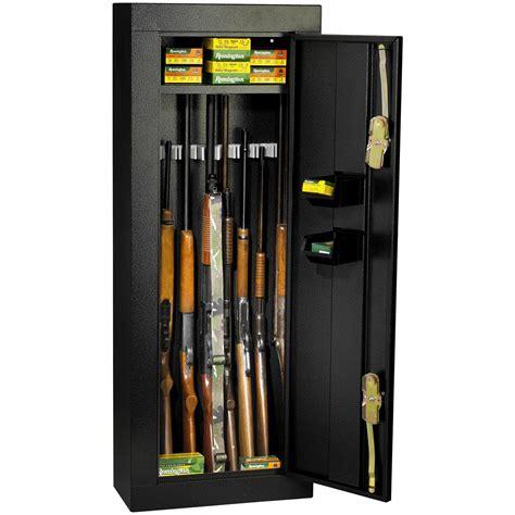 Homak Gun Cabinet by Homak 174 8 Gun Security Cabinet 163668 Gun Safes At