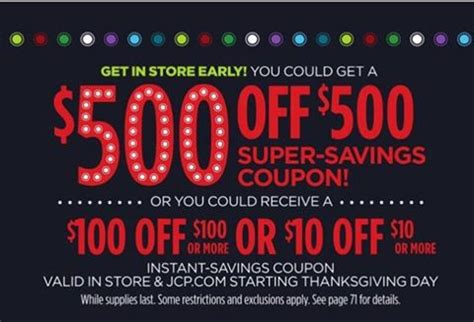 Jcpenney Black Friday Coupon Giveaway - jcpenney thanksgiving coupons 100 images black friday freebies 2017 include gift