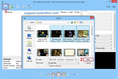 format converter to avi how to convert video files to avi format audio4fun