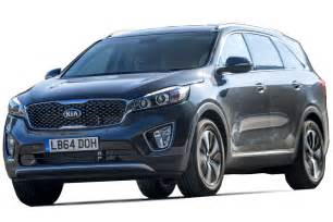 kia sorento suv mpg co2 insurance groups carbuyer