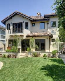 Spanish Home Plans With Courtyards Willow Glen Spanish Style House Mediterranean Exterior