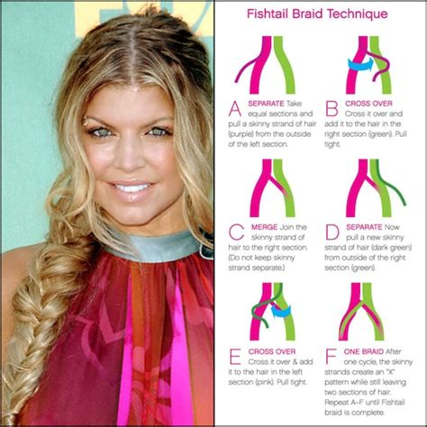 steps to show how to make fish tail favload stylenoted how to fishtail braid