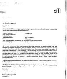 Mortgage Verification Letter Sle Preapproval Cbell