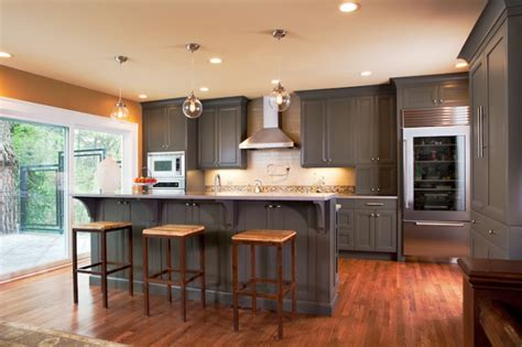 grey wood kitchen cabinets warm and grey kitchen cabinets ideas