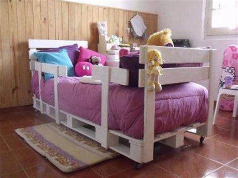 pallet toddler bed pallet furniture 10 ideas to reuse old pallets 101 pallets
