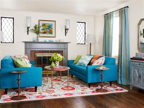 hgtv room makeover downsized living room style hgtv