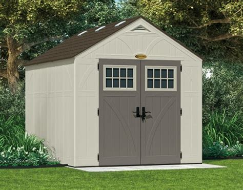 Suncast Shed Manual by Tremont Resin Shed Kit 8x10 Resin Shed Kit By Suncast