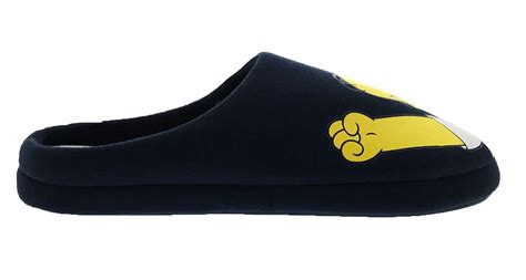 homer simpson house shoes mens simpsons slippers novelty plush duff homer mules xmas gift boys shoes size ebay
