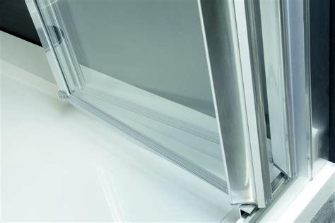 box doccia relax box doccia angolare in alluminio e vetro con porte a
