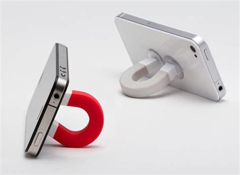 design gadgets u magnet shaped stand for various gadgets gadgetsin
