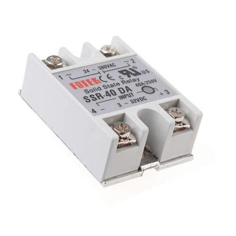 Ba 43b Dc Arduino 250 24v 380v 40a 250v ssr 40 da solid state relay module 3 32v dc to ac new ebay