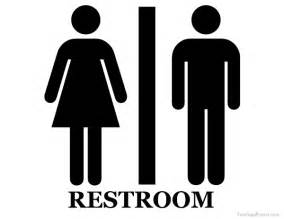 Bathroom Signs Printable Unisex Restroom Sign
