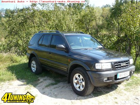 opel frontera 2002 2002 opel frontera b pictures information and specs